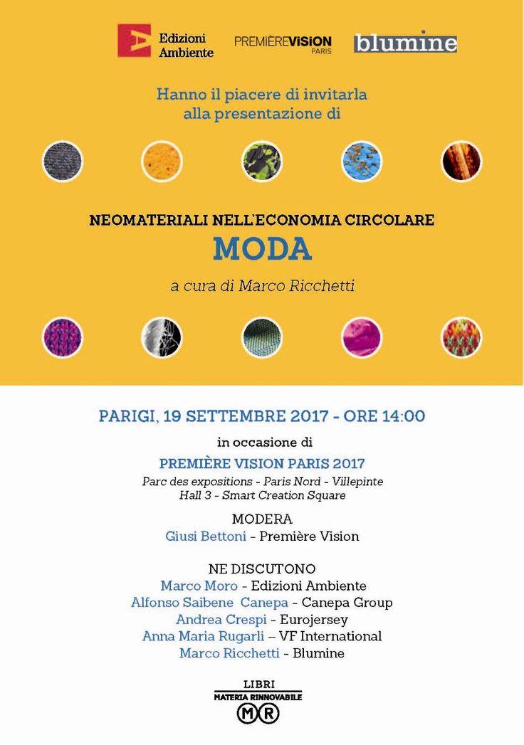 Conferenza Neomateriali a PV Paris: La lista finale degli speakers (Sustainability-Lab)