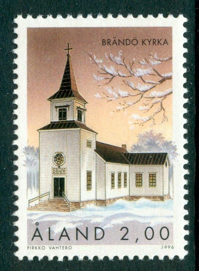 ALAND 1996 Brändö Church