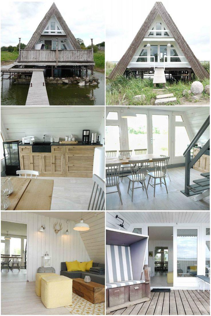 Collage Boothaus Usedom Achterwasser