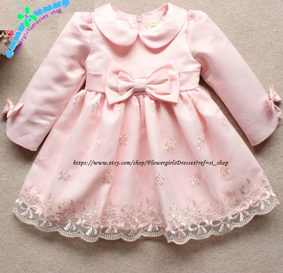 Pink Princess Satin Bubble Flower Girl Dress, Lovely Girl's Dress,Tutu Baby Flower Girl Dress,Pink Special accasion girls dresses,FD1070