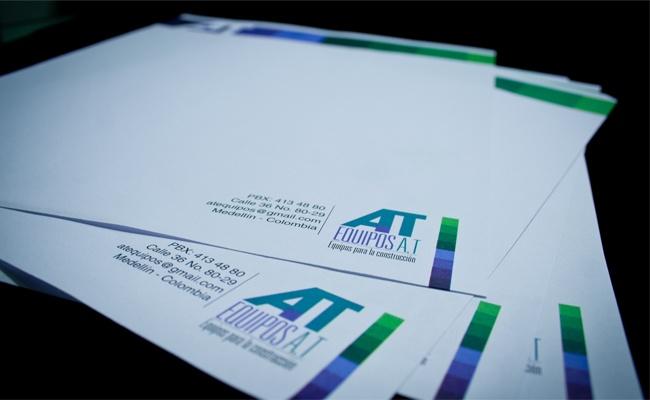 La Quinta Diseño Estrategico - Impresos - Hojas Membrete Equipos AT