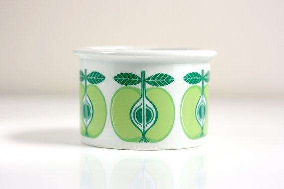 Vintage Arabia Apple Jar by WiseApple on Etsy