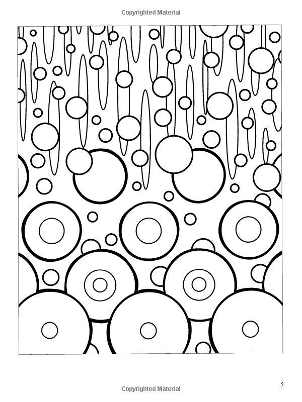 Abstractions (Dover Design Coloring Books): Jessica Mazurkiewicz: 9780486468365: Amazon.com: Books