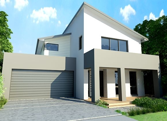 Sekisui House Australia Home Designs: Akari 345 - Stylish Facade. Visit www.localbuilders.com.au/builders_south_australia.htm to find your ideal home design in South Australia