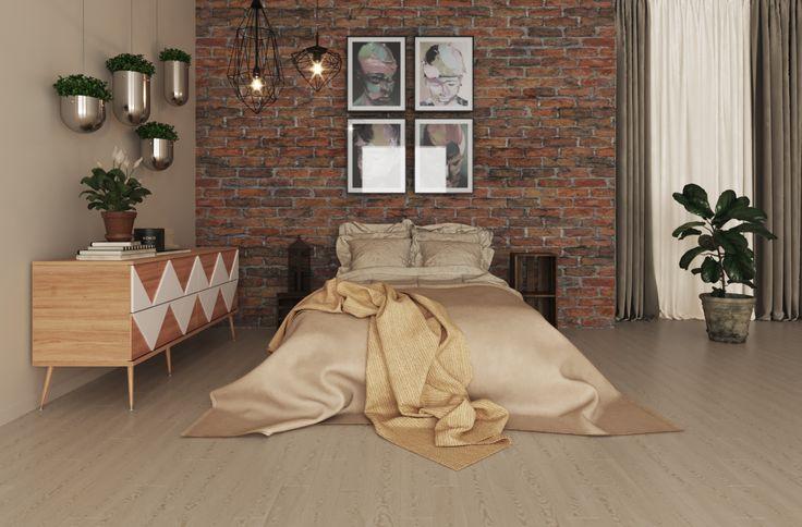 Комод Granny Woo в интерьере спальни