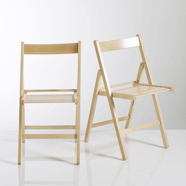 Les 20 meilleures id es de la cat gorie chaises pliantes sur pinterest banc - Chaise pliantes ikea ...
