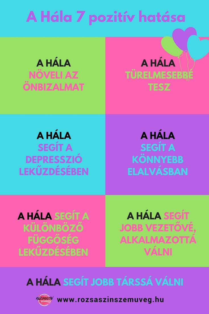 A hála 7 pozitív hatása, pozitív gondolatok, hála, rózsaszín szemüveg
