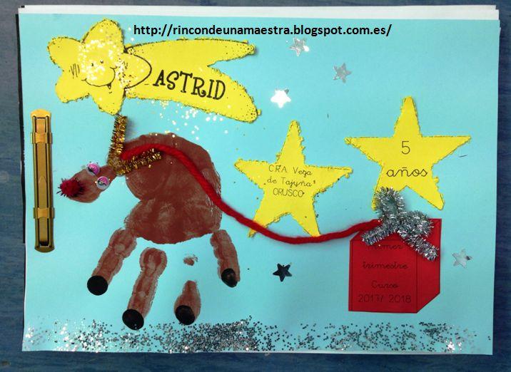 ¡Hola de nuevo! Para despedirme hasta después de Navidad, os enseño la portada que hemos hecho para el cuaderno de nuestros trabajos del 1...