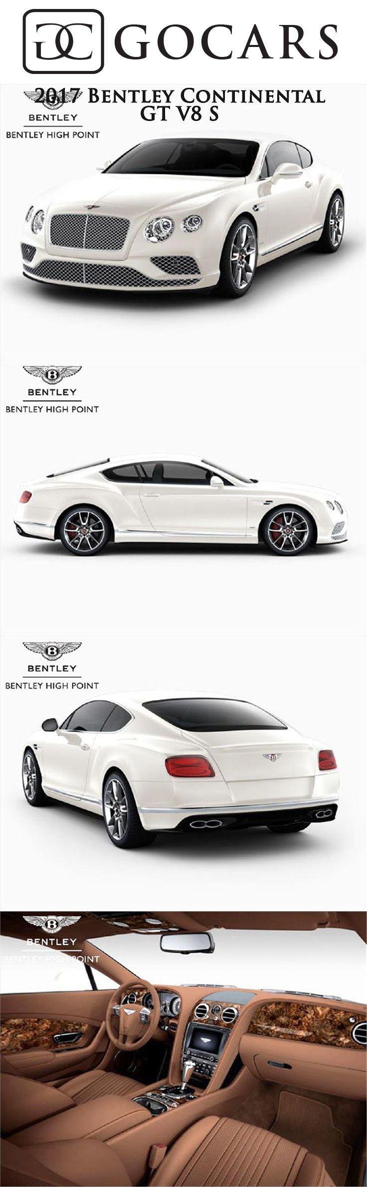 2017 Bentley Continental GT V8 S for sale in High Point, North Carolina #bentley #bentleycontinental #bentleycontinentalgt #bentleycontinentalgtv8s #sportscar #sportscars #supercar #supercars #luxury #luxurycars #bentleyphotos #gocars