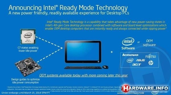 Intel Ready Mode houdt je desktop altijd up-to-date   Hardware.Info Nederland