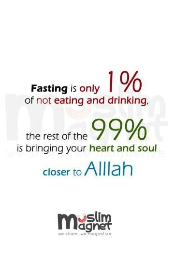 .#Islam #Fasting
