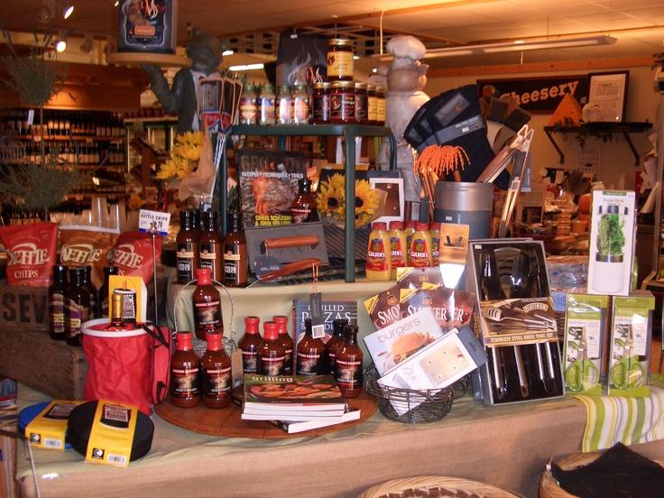 BBq anyone?.. Grocery Store display | Fun | Pinterest