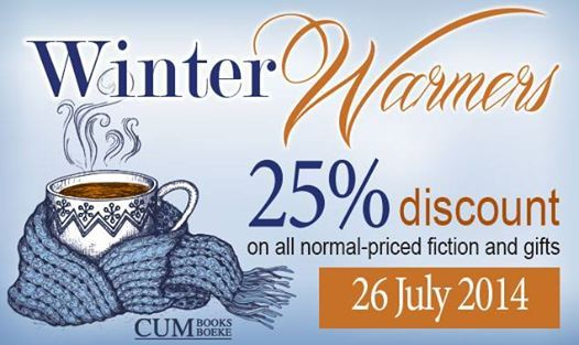 25% discount at CUM books @ Riverside Mall