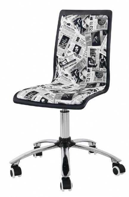 Silla de escritorio juvenil / oficina (59 – OJ8) - Muebles CASANOVA
