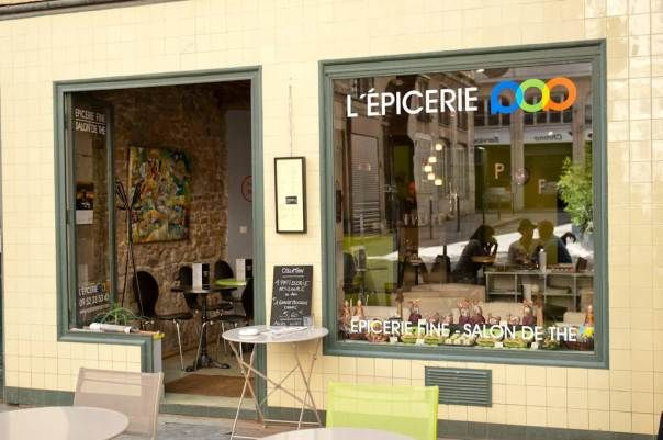 L'épicerie pop - Salon de thé, brunchs, terrasse Place Fernand Rey Lyon Croix-Rousse