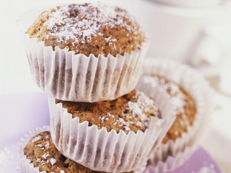 Karottenmuffins mit Mohn - smarter - Zeit: 30 Min. | eatsmarter.de