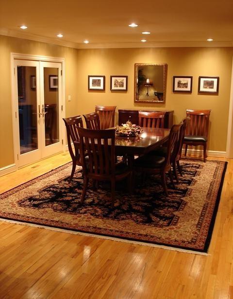 Dining Room Recessed Lighting Amazing Inspiration Design