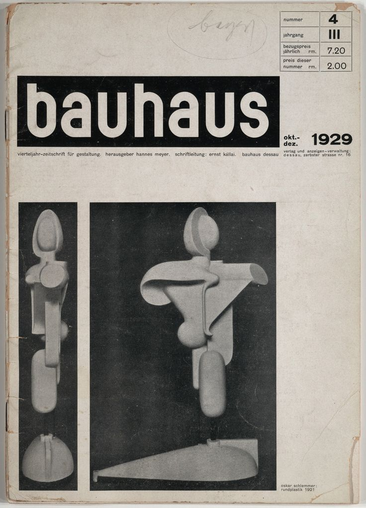 the impact of bauhaus on advertising Every designer probably know everything about bauhaus, it's the base of our  design process and education and still influence a lot of our.