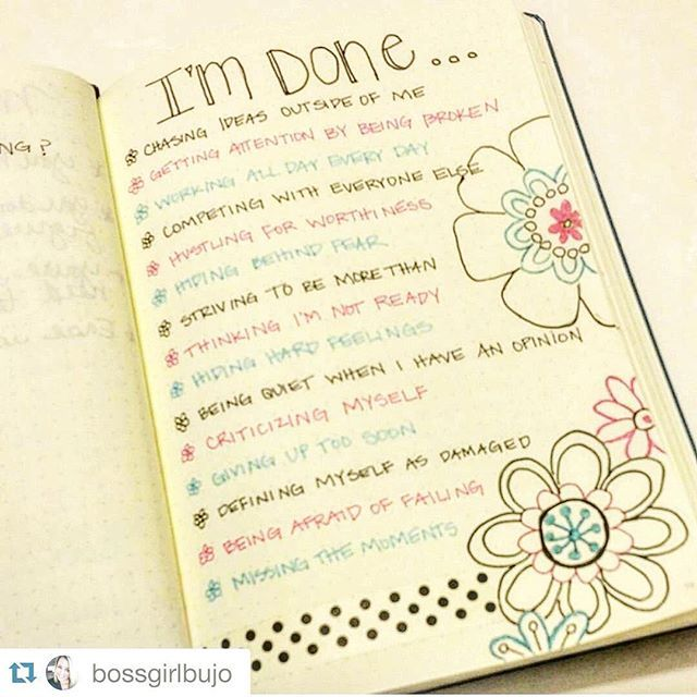 We should all copy Kimberly's @bossgirlbujo page into our own journals! Can you imagine how incredible we'd all feel if we left this all behind? #Repost @bossgirlbujo with @repostapp. ・・・ #planwithmechallenge day 12: fresh start. Everyone needs a #freshstart occasionally. These are some of the things I'm leaving behind. #bujo #bulletjournal #planner #organize #writeitdown #plan #journal