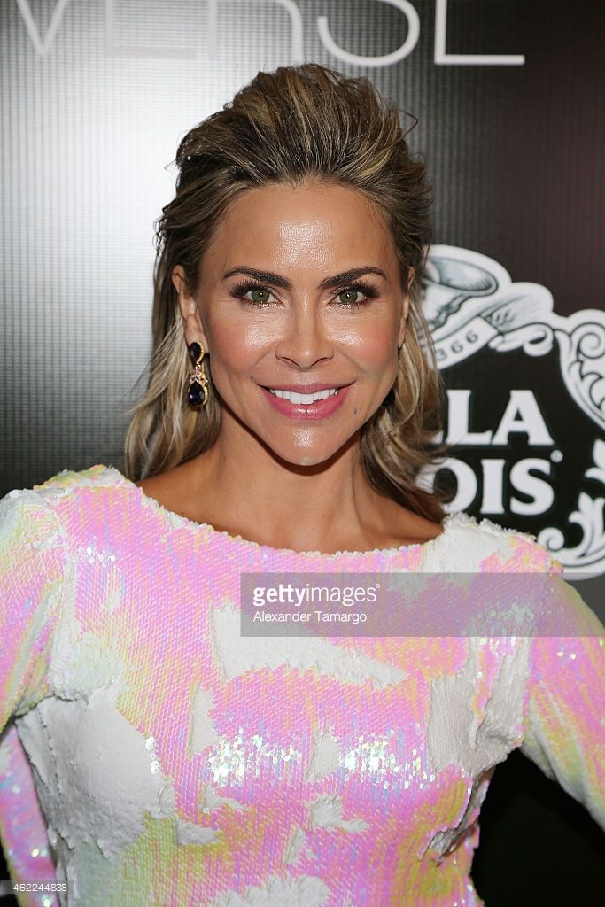 Aylin Mujica attends the Venue Magazine Official Miss Universe after party at Trump National Doral on January 25, 2015 in Doral, Florida.