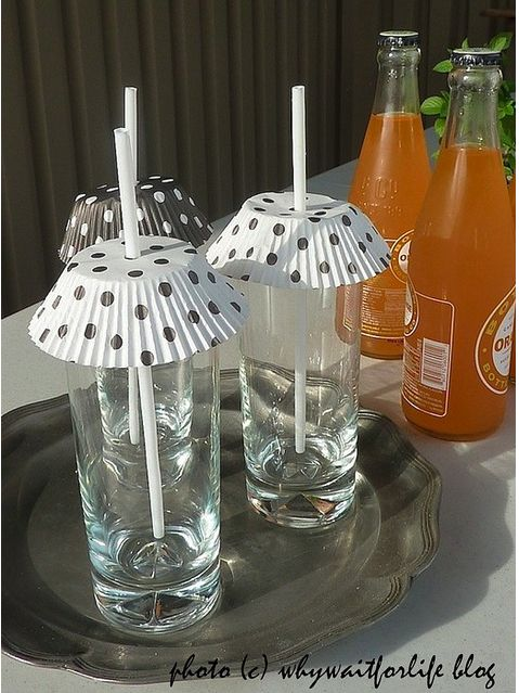 la decoración de mis mesas: Otro uso para los moldes de cupcakes