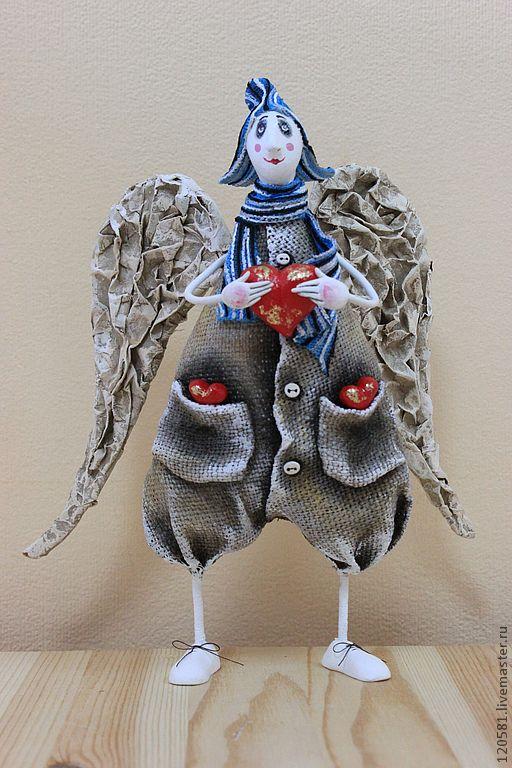 Купить ангел с сердцем - ангел, новогодний подарок, новогодний сувенир…