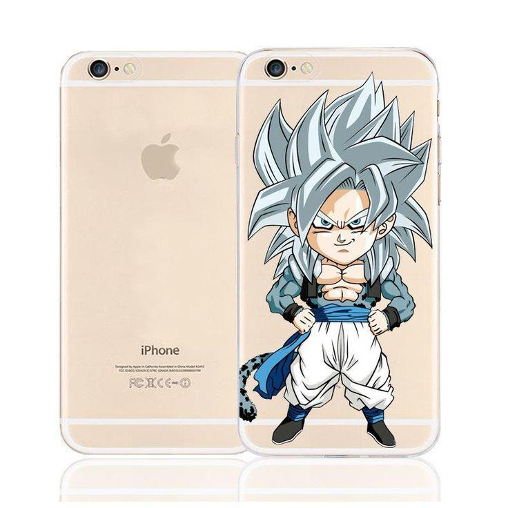 DBZ Cute Chibi Goku Super Saiyan SSJ5 Character Back Cover for iPhone 6 6s Plus    #DBZ #Cute #Chibi #Goku #Super #Saiyan #SSJ5 #Character #Back #Cover for #iPhone #6 #6s #Plus
