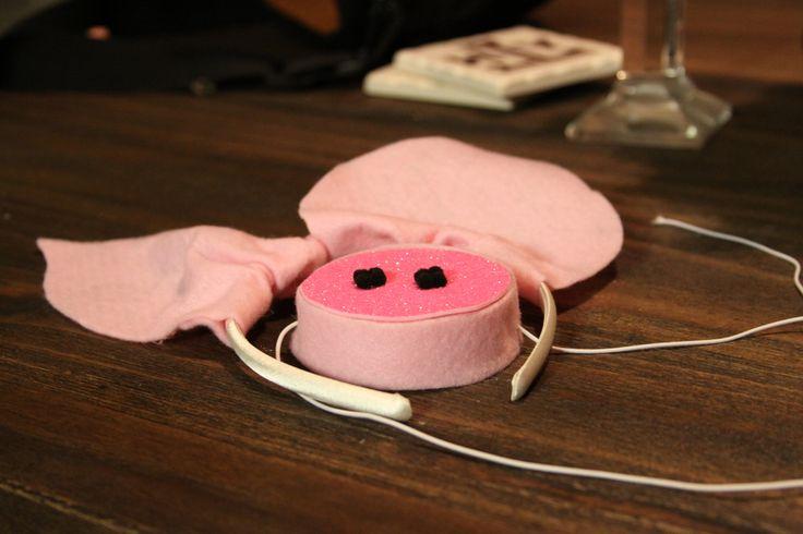 DIY Halloween: three little pigs