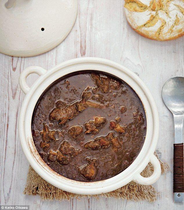 Simply Nigella: Lamb shank and black garlic stew | Daily Mail Online