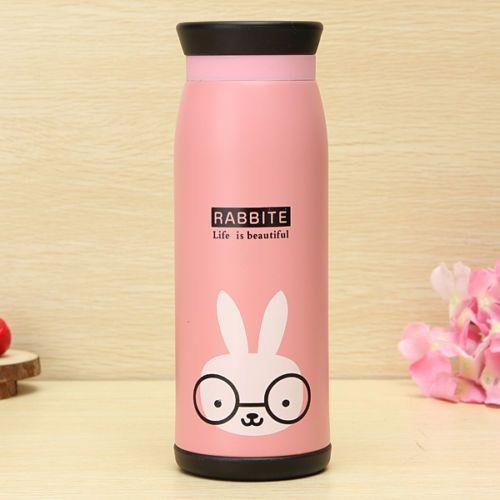 500ml Mignon Animal MUG Bouteille Tasse Bottle Thermos EAU Lait Isotherme Sport   eBay