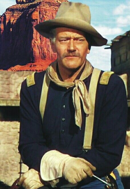 """She Wore a Yellow Ribbonis a 1949TechnicolorWesternfilm directed byJohn Fordand starringJohn Wayne. TheAcademy Awardwinning film was the second of Ford's Cavalrytrilogy films (the other two beingFort Apache(1948) andRio Grande(1950)). With a budget of $1.6 million, the film was one of the most expensive Westerns made up to that time. It was a major hit forRKO. The film takes its name from """"She Wore a Yellow Ribbon"""", a popularUS militarysong that is used to keepmarching…"""