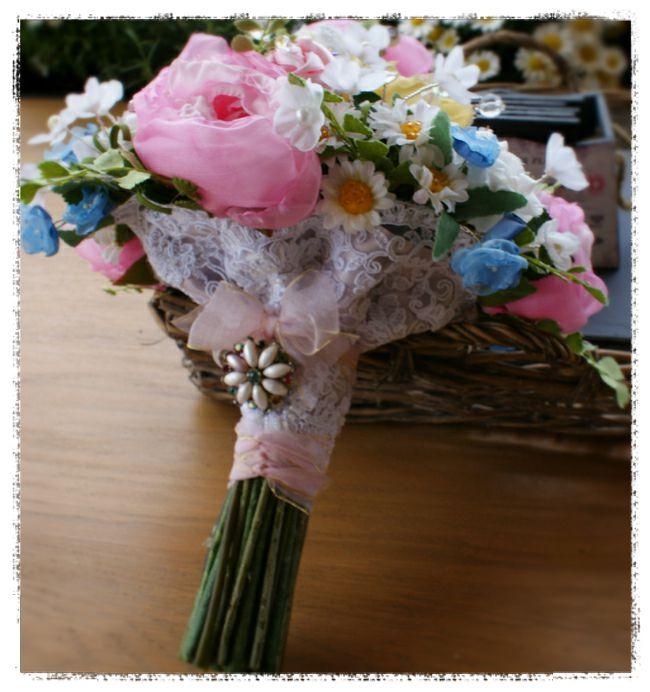 wedding bouquet for Michelle