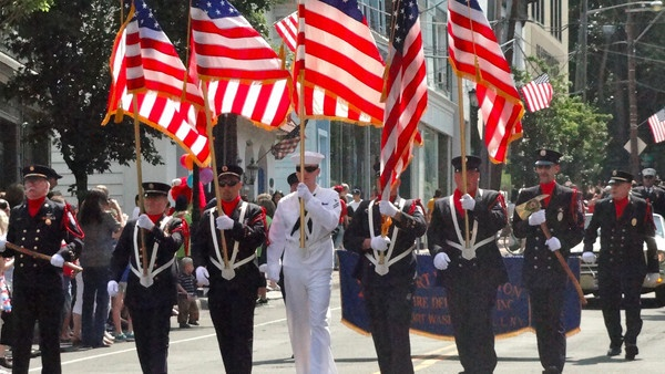 memorial day parade denver 2014