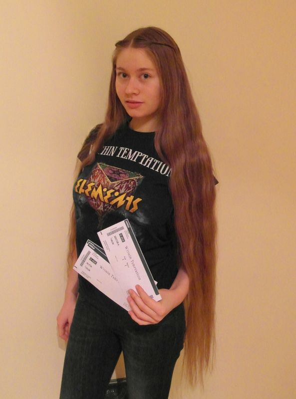 #WTworldtour I'm going to go to the show in Warsaw, 9th March. It will be my 5th time with WT, my beloved band! This time I'm going with my boyfriend, that's his first WT concert. Lookin' forward! Love you guys!