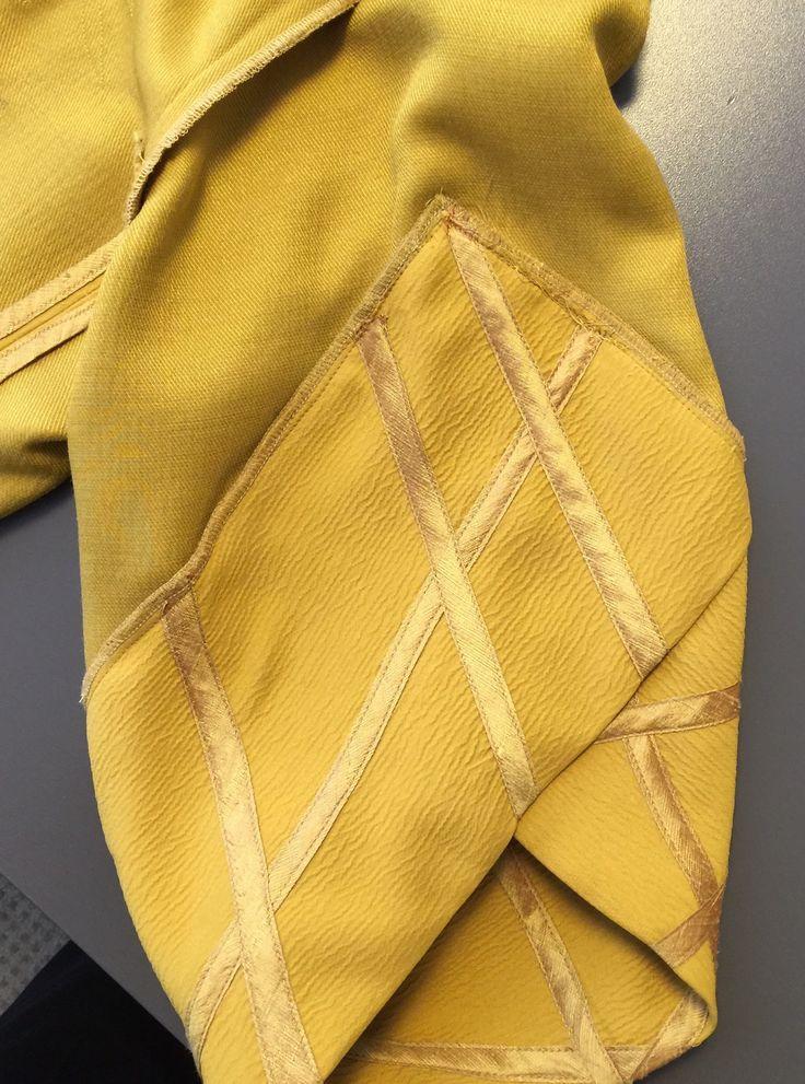 Inside sleeve of  Vogue Patterns V1493 kimono jacket by Koos van den Akker.