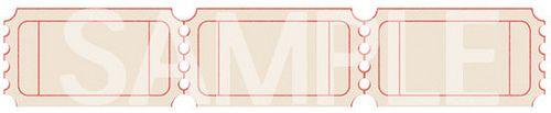 Vintage Printable Raffle Ticket Templates