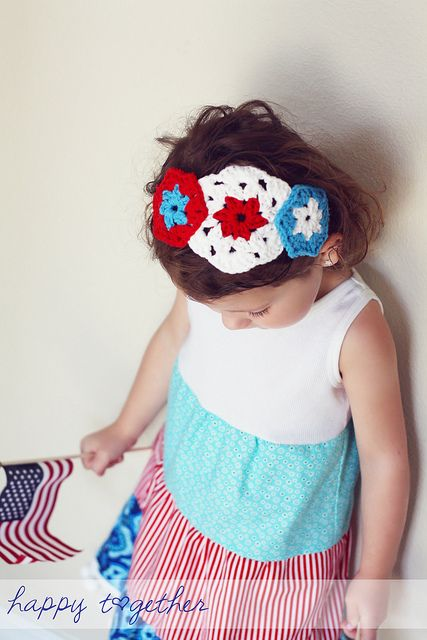 Matching Headband by ohsohappytogether, via Flickr