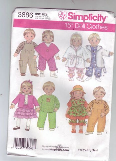 17 Best images about Dolls - Links to Sewing Patterns ...
