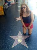 Hollywood walk of fame - family reunion