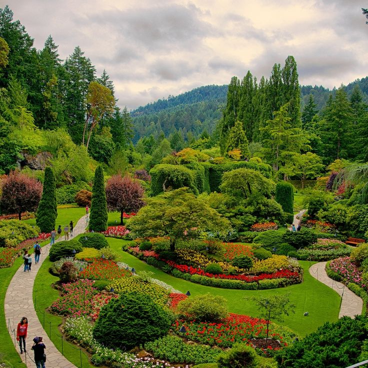 76 best butchart garden victoria b c images on for Garden design ideas vancouver