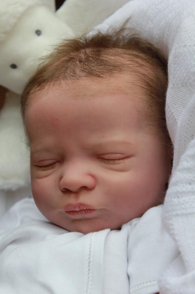 Realborn Presley Asleepby Denise Pratt By Marian Ross Of Baby Sunshine Reborn Nursery Ebay Id