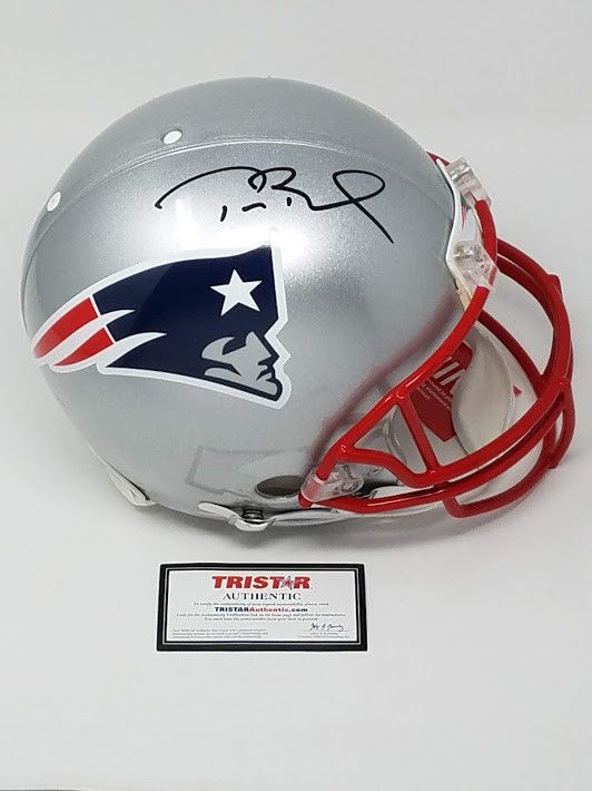 7477c7d22 TOM BRADY Autographed Authentic New England Patriots Proline Helmet TRISTAR  (eBay Link)