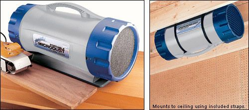 Portable Dust Filter System Model #AB260 - Woodworking