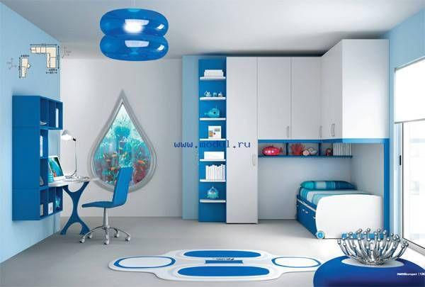 Детская комната в морском стиле Moretti Compact CP70