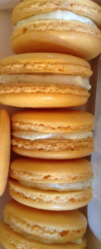 Nuestros Macarons de Vainilla deliciosos