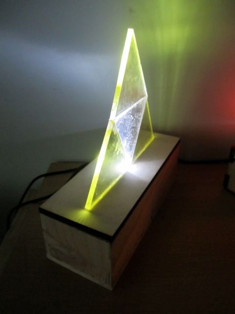 perspex usb lamp - Google Search