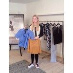 Lovely Frederikke from the fashion blog Fredes blog showing her Y.A.S favourites / #yasapparel @ yasapparel on Instagram