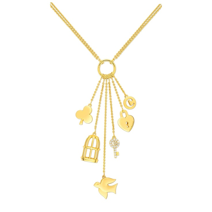 Cacharel Gold-colored Necklace-ISC278Z72