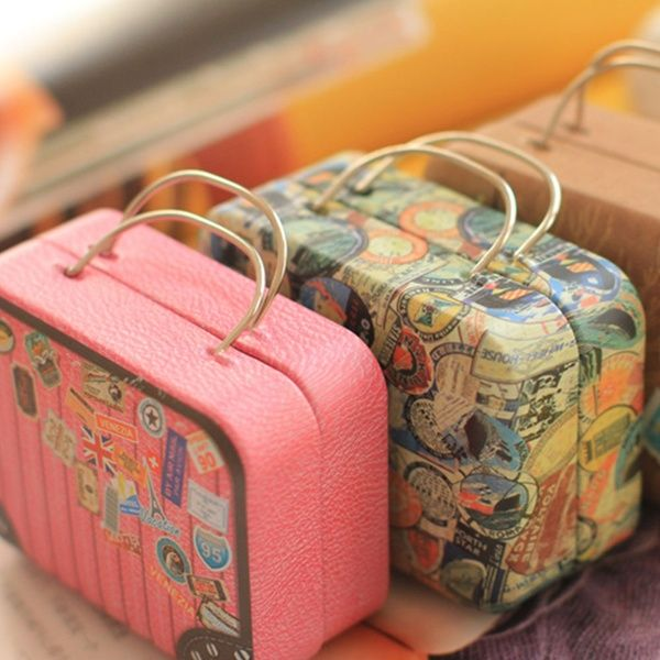 Wedding Favor Tin Box Home Storage Organization Organizer Container Household