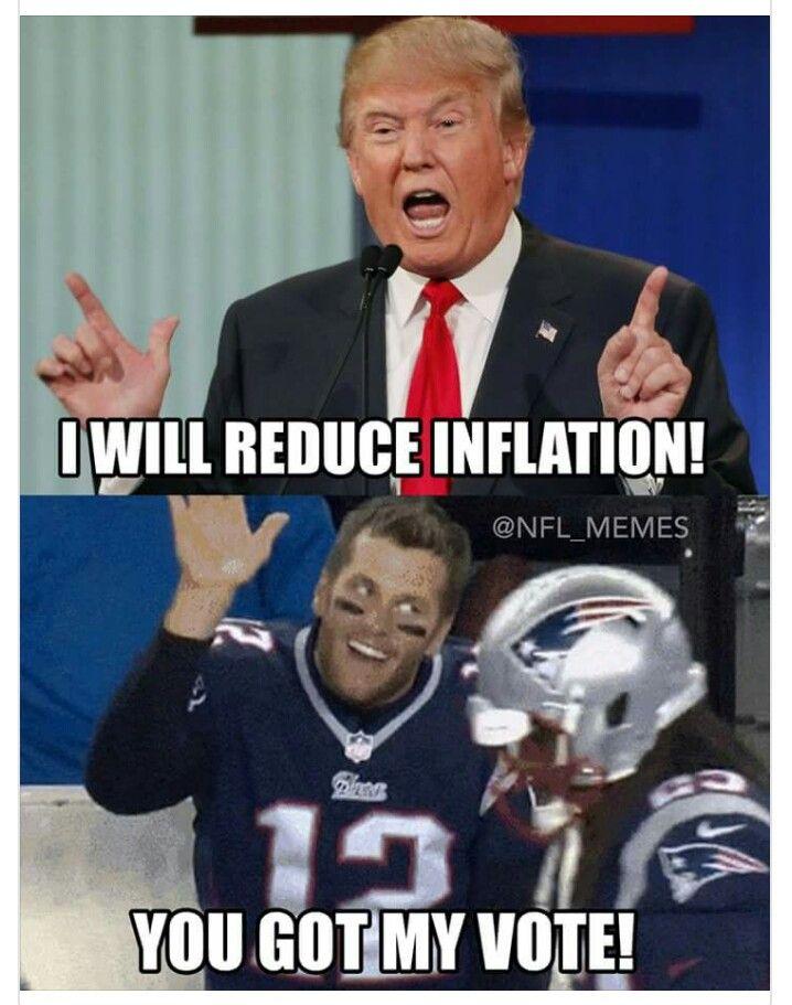Nah, Brady cries too much. Gotta be a Snowflake!! {GM}